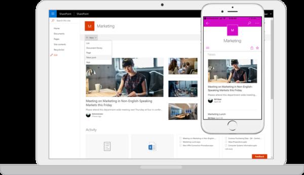 SharePoint Server 2019 - New experiences